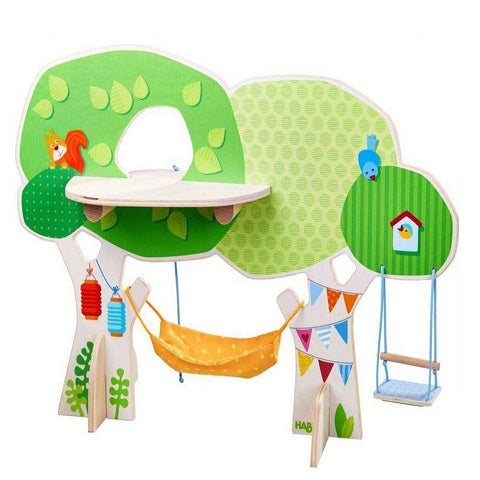 Haba Little Friends Tree House Playset