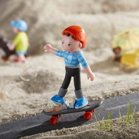 Haba Little Friends Marc the Skateboarder