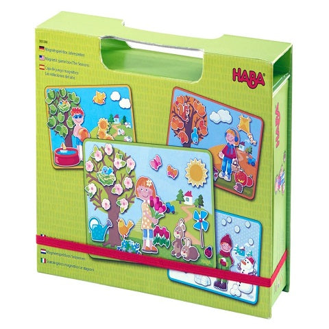 Haba Magnetic Game Box the Seasons