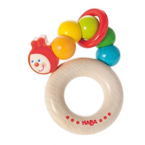 Haba Rainbow Caterpillar Clutching Toys