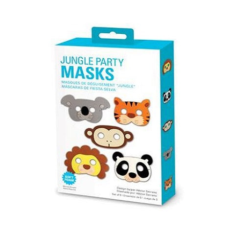 Kikkerland Jungle Party Masks