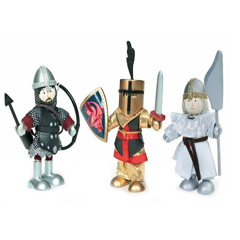 Budkins Wooden Knights Gift Pack