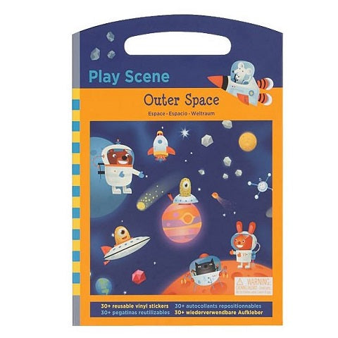 Mudpuppy Outer Space Play Scence