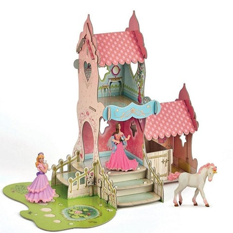 Papo Princess Castle with 3 Figurines