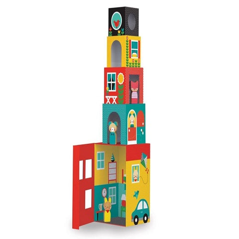Peek-a-boo Stacking Blocks Play Set