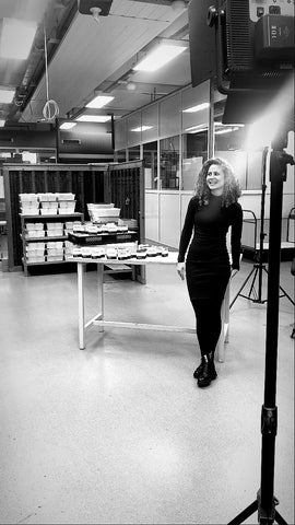 Mar shooting at our eco-packaging partner Stiftung Mensch.