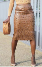 Star Studded Midi Skirt