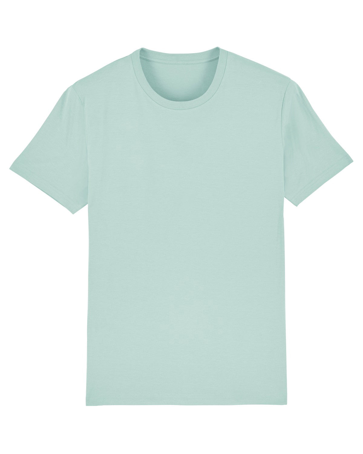 Attenborough Organic T-Shirt - Light Turquoise