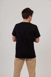 Good Times - Mens Print Tee - Black