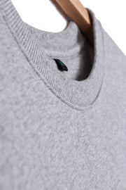 Men's Classic Organic Cotton Sweatshirt - Grey Marl
