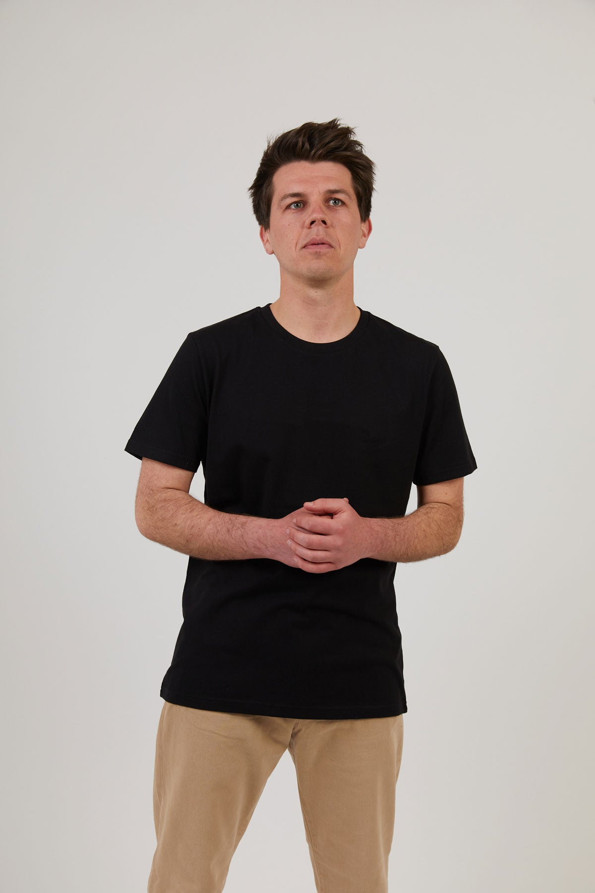 Men's Attenborough Organic T-Shirt - Black