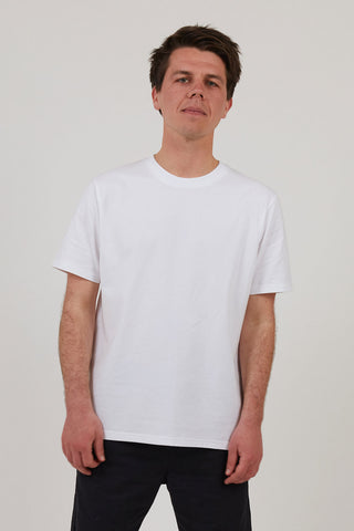 Men's Heavyweight Organic Cotton T-Shirt - White