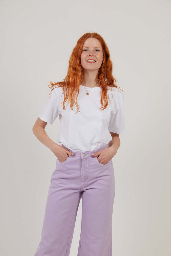 Workwear Relaxed Tee - White