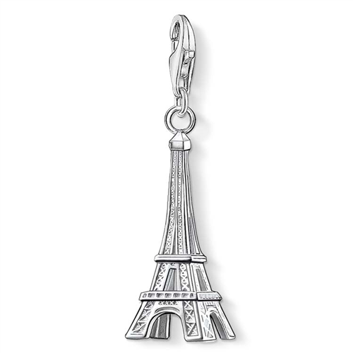 Thomas Sabo Charm Club Sterling Silver Eiffel Tower