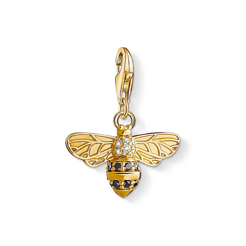 Thomas Sabo Charm Club Gold Plated Bee Charm