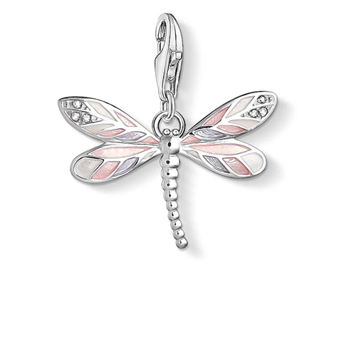 Thomas Sabo Charm Club Sterling Silver Dragonfly Charm