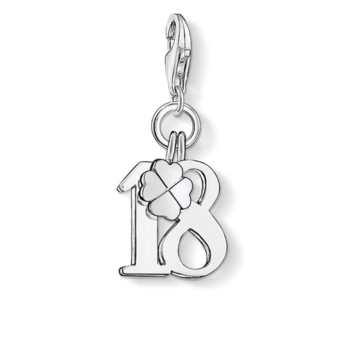 Thomas Sabo Number 18 and Clover Charm