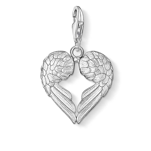 Thomas Sabo Sterling Silver Charm Club Wings Charm