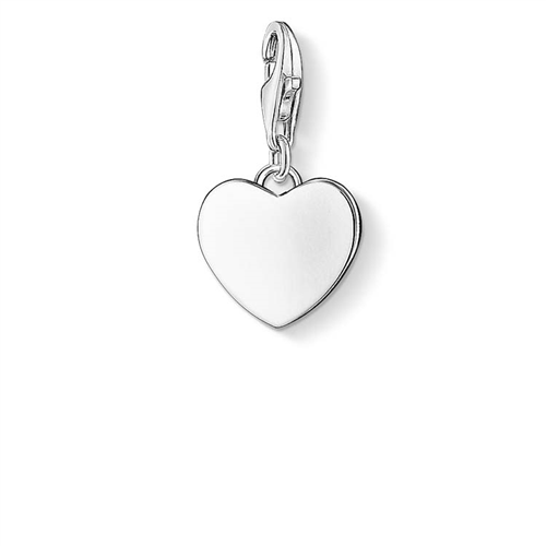 Thomas Sabo Charm Club Sterling Silver Heart Charm