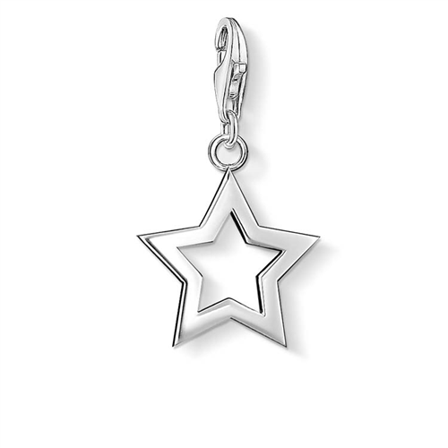 Thomas Sabo Charm Club Sterling Silver Open Star Charm