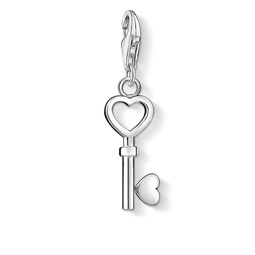 Thomas Sabo Charm Club Heart Key Charm
