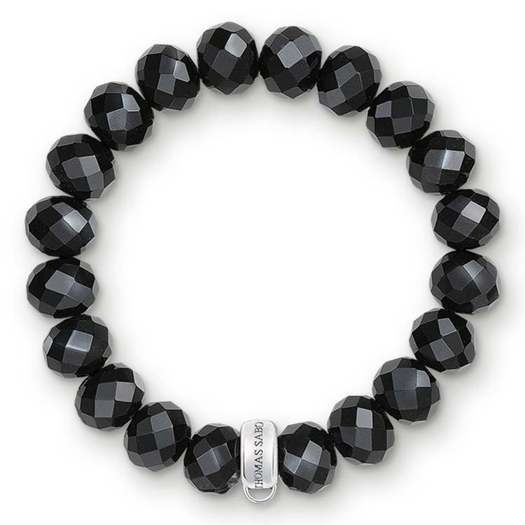 Thomas Sabo Charm Club Medium Obsidian Bracelet