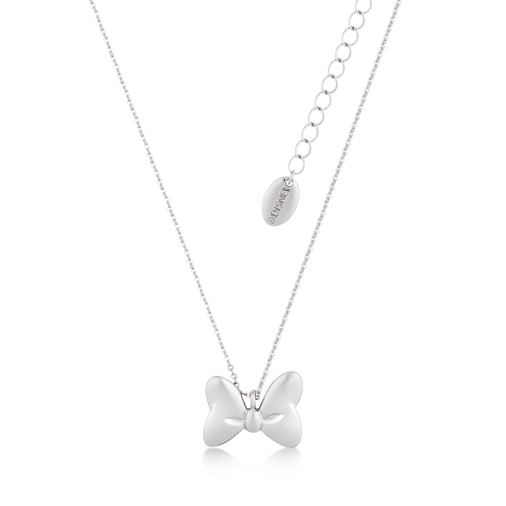 Disney Couture Kingdom Minnie Mouse Bow Necklace