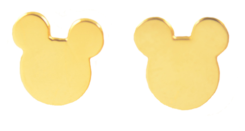 Disney Couture Kingdom Mickey Mouse Stud Earrings