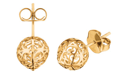 Engelsrufer Filigree Ball Stud Earrings