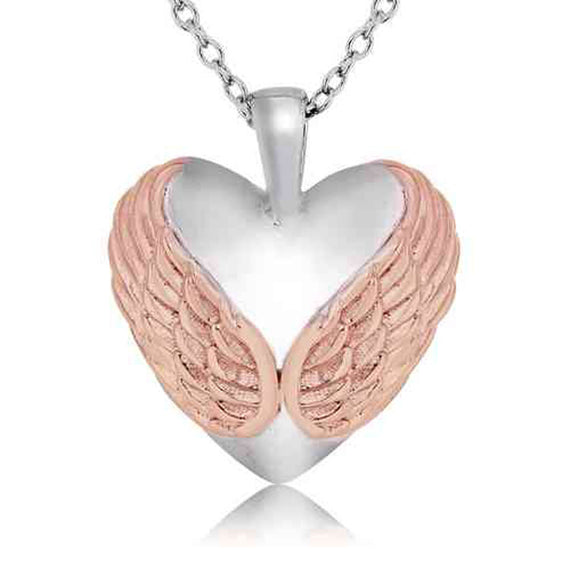 Engelsrufer Sterling Silver Winged Heart Pendant