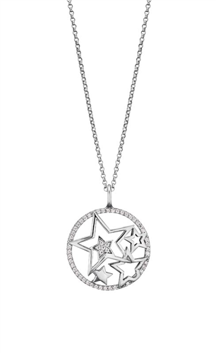 Engelsrufer Sterling Silver Stars Necklace
