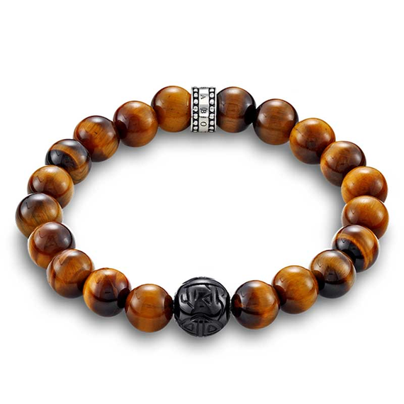 Thomas Sabo Gents Tigers Eye Bracelet