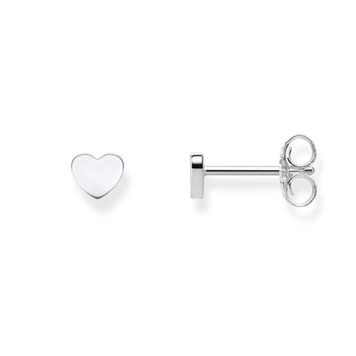 Thomas Sabo Sterling Silver Heart Stud Earrings