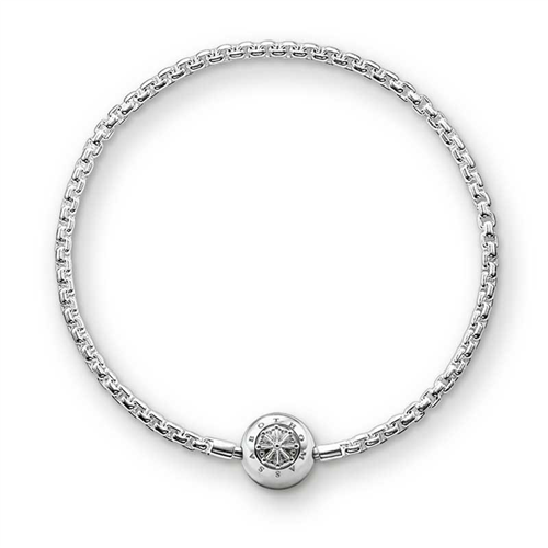 Thomas Sabo Sterling Silver Polished Karma Bracelet