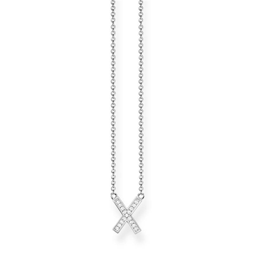 Thomas Sabo Sterling Silver Cross Necklet