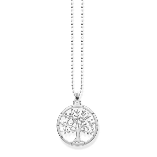 Thomas Sabo Sterling Silver Tree Of Life Necklet