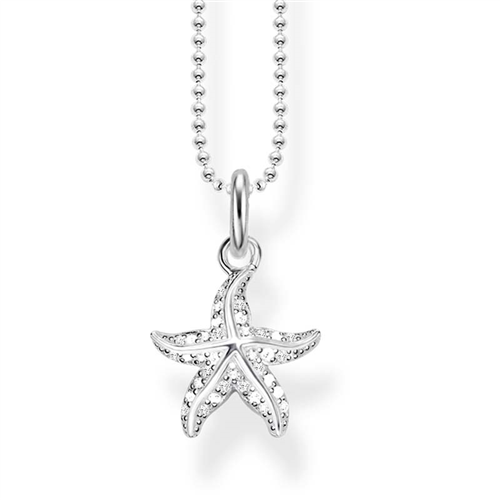 Thomas Sabo Sterling Silver Ocean Starfish Necklet