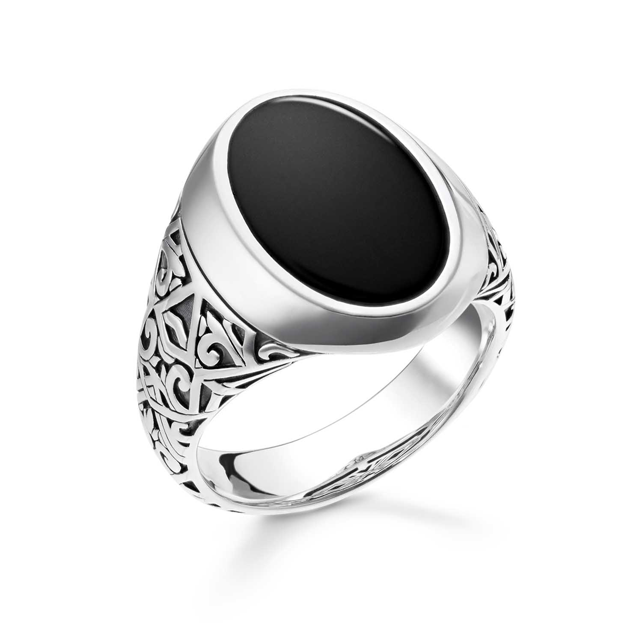 Thomas Sabo Gents Onyx Signet Ring