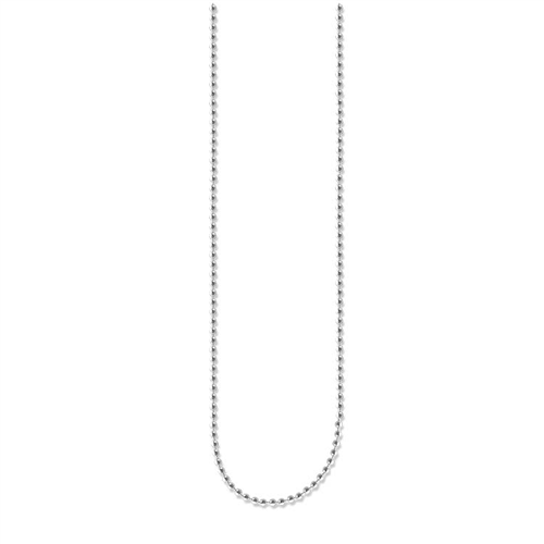 Thomas Sabo Sterling Silver Fine Ball Necklet