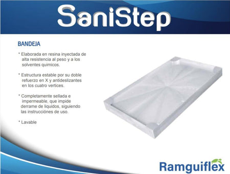 Kit Tapete de Desinfección SaniStep