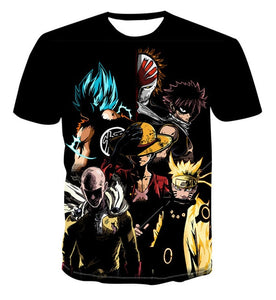 Camisetas DragonBall 3d Estampados
