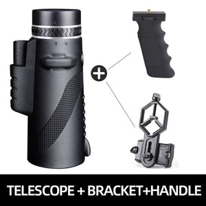 Powerful Monocular Long Range 1000m Telescope for Smartphone 40X60 Military Spyglass Zoom High Quality HD Hunting Optics Scope