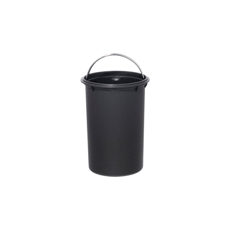 Gray Trash Can