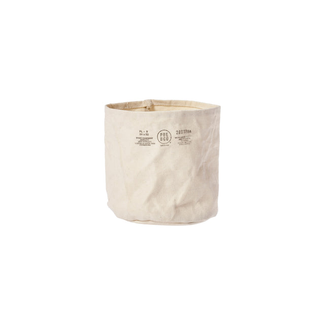 Canvas Pot Cover Medium Off White