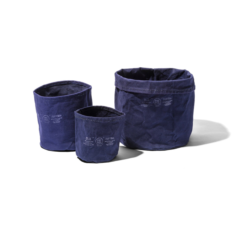 Canvas Pot Cover Small Navy