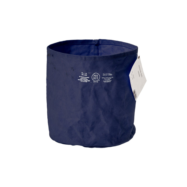 Canvas Pot Cover Large Navy