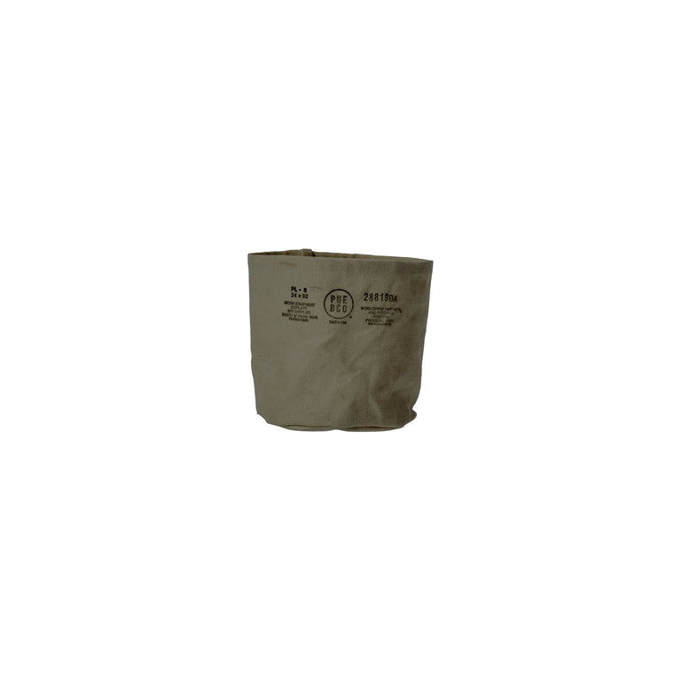 Canvas Pot Cover Small Green