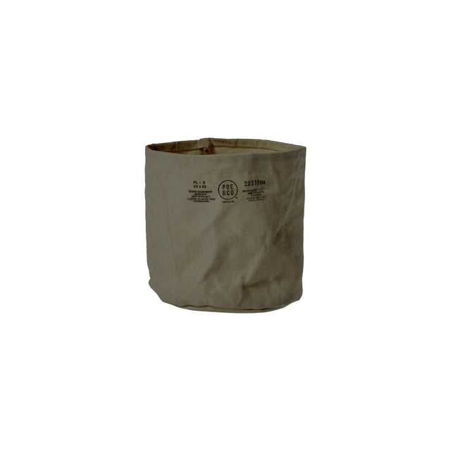 Canvas Pot Cover Medium Green