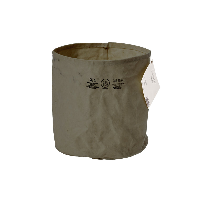 Canvas Pot Cover Large Green