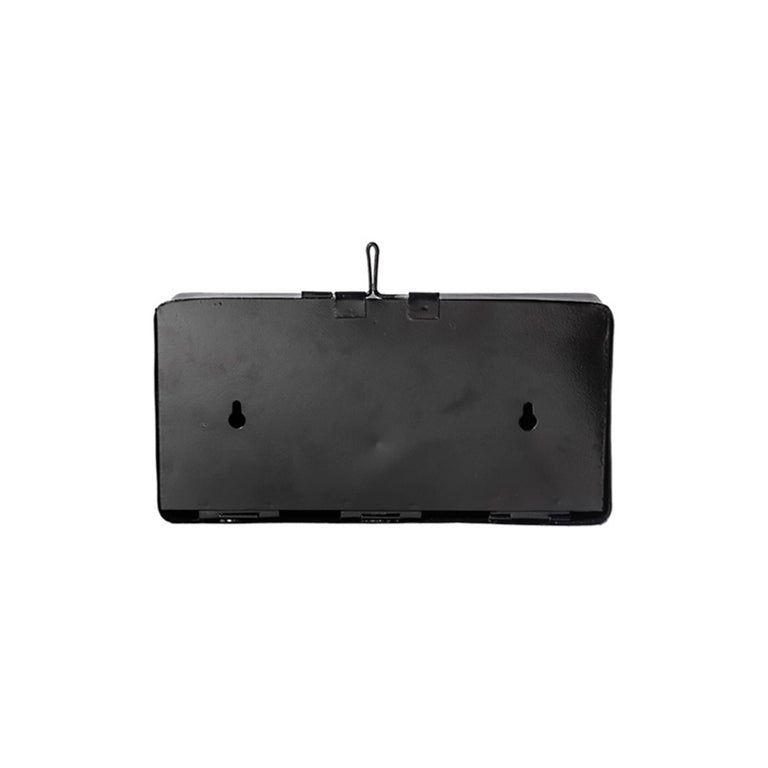 Plain Tissue Box - Black